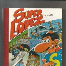 Livros de Banda Desenhada: SUPER LOPEZ SUPERLOPEZ SUPER HUMOR Nº 4. EDICIONES B 1991 1ª EDICIÓN. JAN. Lote 242039120