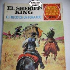 Tebeos: EL SHERIFF KING, Nº 43, EL PRECIO DE UN FORAJIDO, ED. BRUGUERA, AÑO 1973, 6D (B). Lote 242096555