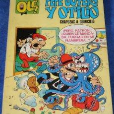 Tebeos: PEPE GOTERA Y OTILIO - CHAPUZAS A DOMICILIO - NUMERADO 1 - 2ª EDICIÓN (1975). Lote 242200385