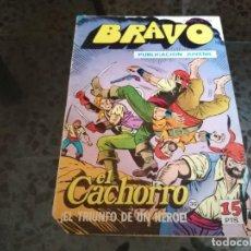 Tebeos: BRAVO EL CACHORRO - EL TRIUNFO DE UN HÉROE. Lote 242313605