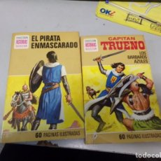 Livros de Banda Desenhada: DOS NUMEROS SERIE HEROES EDITORIAL BRUGUERA CAPITAN TRUENO. Lote 242472420