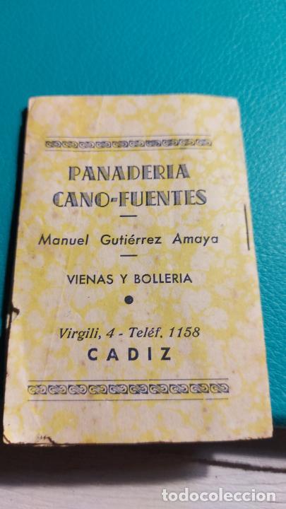 Tebeos: EL REY DEL GALLINERO SERIE 12 NUMERO 8 PANADERIA CANO-FUENTES MIDE 9X6CM - Foto 2 - 242919910