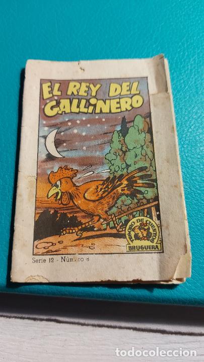 EL REY DEL GALLINERO SERIE 12 NUMERO 8 PANADERIA CANO-FUENTES MIDE 9X6CM (Tebeos y Comics - Bruguera - Cuadernillos Varios)