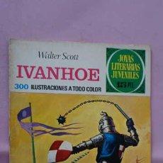 Tebeos: 1 EDICION JOYAS LITERARIAS JUVENILES NUMERO 16 IVANHOE. Lote 243057545