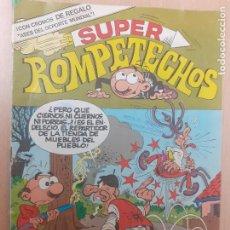 Tebeos: SUPER ROMPETECHOS Nº 34. CON MORTADELO Y FILEMÓN. BRUGUERA 1983. Lote 243058945