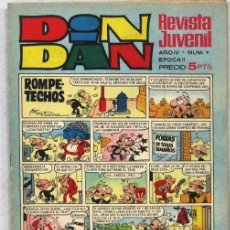 Livros de Banda Desenhada: DIN DAN - REVISTA JUVENIL - AÑO IV - Nº 9 - COMIC. Lote 243140185