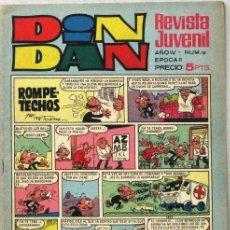 Livros de Banda Desenhada: DIN DAN - REVISTA JUVENIL - AÑO IV - Nº 10 - COMIC. Lote 243140280