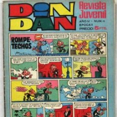 Livros de Banda Desenhada: DIN DAN - REVISTA JUVENIL - AÑO IV - Nº 15 - COMIC. Lote 243140550