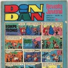 Livros de Banda Desenhada: DIN DAN - REVISTA JUVENIL - AÑO IV - Nº 39 - COMIC. Lote 243140915