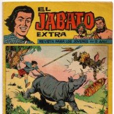 Tebeos: JABATO EXTRA Nº 19 (BRUGUERA 1962). Lote 243145010