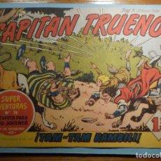Livros de Banda Desenhada: COMIC - EL CAPITAN TRUENO NÚMERO, Nº 106 - ¡ TAM-TAM KAMBILI ! - BRUGUERA 13-10-1958, ORIGINAL. Lote 243198730