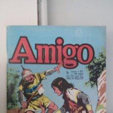 Tebeos: CAPITAN TRUENO FRANCES FRANCIA AMIGO Nº 35 MUY BUEN ESTADO. Lote 243254920