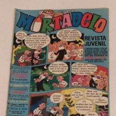 Tebeos: MORTADELO Nº 38 - ED. BRUGUERA - AÑO 1971. Lote 243287035