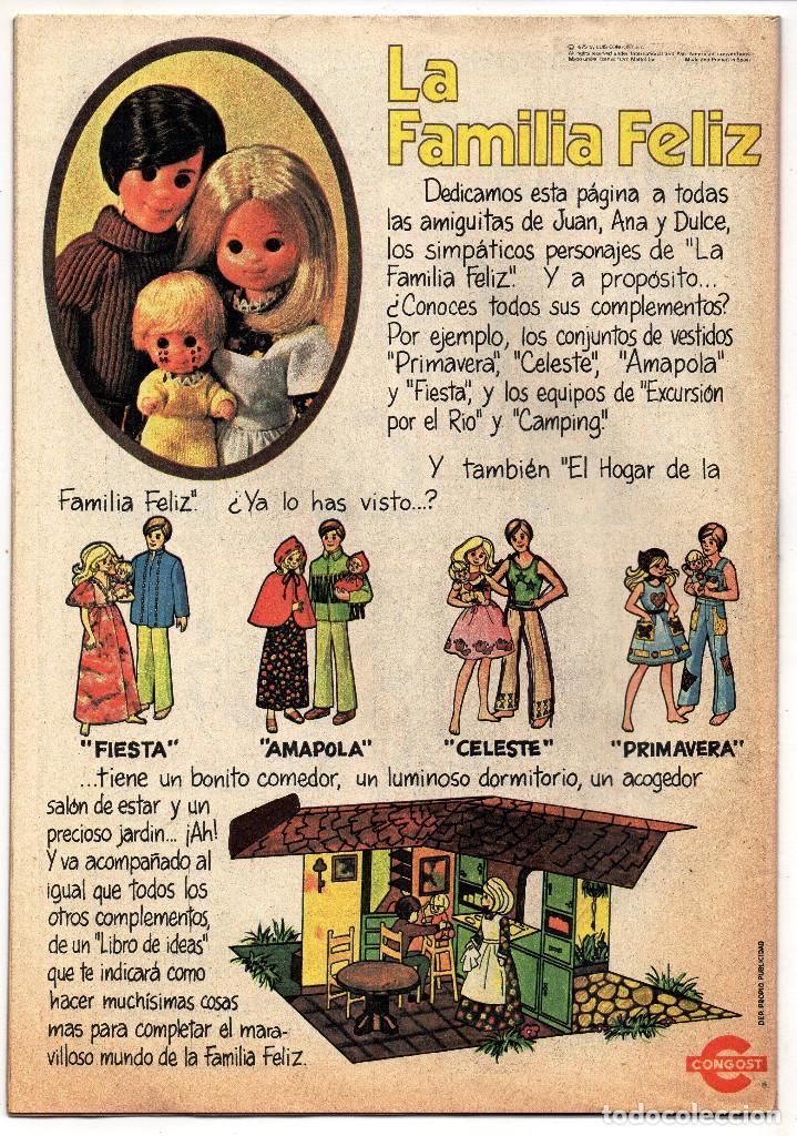 Tebeos: LILY nº 810 (Bruguera 1977) Con poster de Pablo Abraira. - Foto 2 - 243342985