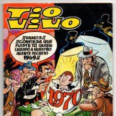 Tebeos: TIO VIVO ALMANAQUE 1970 (BRUGUERA 1969) CON GALAX EL COSMONAUTA.. Lote 243355625