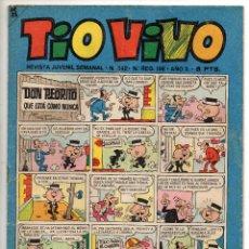 Livros de Banda Desenhada: TIO VIVO Nº 342 (BRUGUERA 1967). Lote 243366080