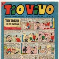 Livros de Banda Desenhada: TIO VIVO Nº 336 (BRUGUERA 1967). Lote 243366560