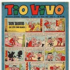 Tebeos: TIO VIVO Nº 327 (BRUGUERA 1967). Lote 243367905