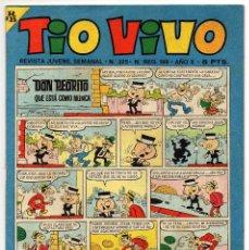 Tebeos: TIO VIVO Nº 325 (BRUGUERA 1967). Lote 243368330