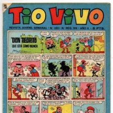 Tebeos: TIO VIVO Nº 320 (BRUGUERA 1967). Lote 243368620