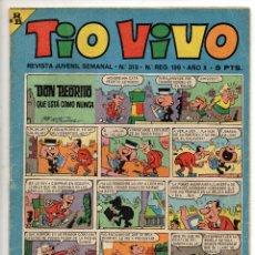 Livros de Banda Desenhada: TIO VIVO Nº 313 (BRUGUERA 1967). Lote 243369690