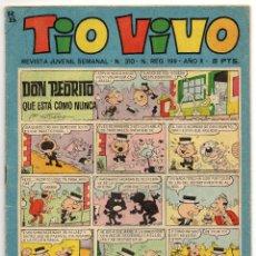 Tebeos: TIO VIVO Nº 310 (BRUGUERA 1967). Lote 243370055