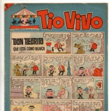 Tebeos: TIO VIVO Nº 219 (BRUGUERA 1965). Lote 243372005