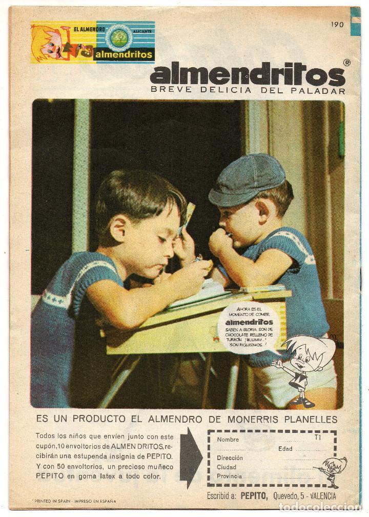 Tebeos: TIO VIVO nº 190, 191, 242, 301, 315, 316, 320, 325, 327 y 335 (Bruguera 1964/67) 10 tebeos. - Foto 3 - 243372840