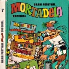 Tebeos: GRAN FESTIVAL ESPECIAL MORTADELO Nº7 - ED. BRUGUERA 1985. Lote 243392820