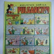Tebeos: BIBLIOTECA COMICA PULGARCITO Nº 116 CUCUFATO PI EN UN PLAN MORROCOTUDO MIDE 24 X 18 CM.. Lote 243410810