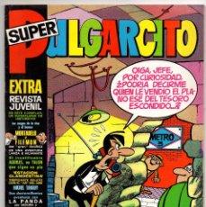Tebeos: SUPER PULGARCITO Nº 8 (BRUGUERA 1971) CON MICHEL TANGUY, CONSERVA LOS BILLETES DE MORTADELOS.. Lote 243466940