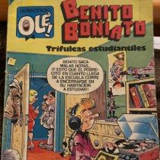 Livros de Banda Desenhada: BENITO BONIATO. OLE! NÚM 4. EDICIÓN 1984. Lote 243473220