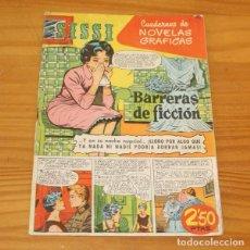 Tebeos: SISSI 40 CUADERNOS DE NOVELAS GRAFICAS. BARRERAS DE FICCION, J BLASCO, ARNAU... EDITORIAL BRUGUERA 1. Lote 243518935