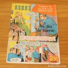 Tebeos: SISSI 41 CUADERNOS DE NOVELAS GRAFICAS. SU DIA DE SUERTE, JULIO BOSCH, GUILLAMON... EDITORIAL BRUGUE. Lote 243518955