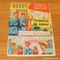 Tebeos: SISSI 43 CUADERNOS DE NOVELAS GRAFICAS. FIRMEZA DE AMOR, JAIME JUEZ, BUYLLA... EDITORIAL BRUGUERA 19. Lote 243519000