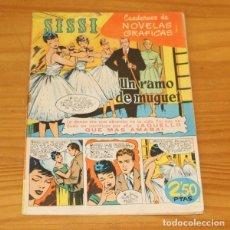 Tebeos: SISSI 44 CUADERNOS DE NOVELAS GRAFICAS. UN RAMO DE MUGUET, CASAMITJANA... EDITORIAL BRUGUERA 1960. Lote 243519010