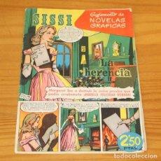 Tebeos: SISSI 48 SUPLEMENTO DE NOVELAS GRAFICAS. LA HERENCIA, CASAMITJANA... EDITORIAL BRUGUERA 1960. Lote 243519045