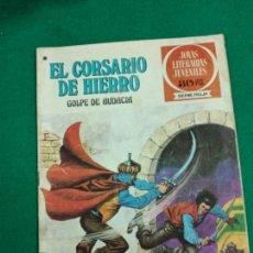 Tebeos: EL CORSARIO DE HIERRO Nº 51. GOLPE DE AUDACIA. JOYAS LITERARIAS JUVENILES SERIE ROJA. BRUGUERA 1978. Lote 243536395