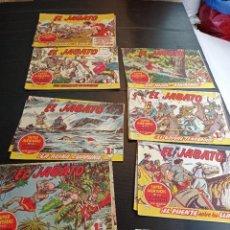 Livros de Banda Desenhada: LOTE DE 19 NÚMEROS DEL JABATO. Lote 243558895