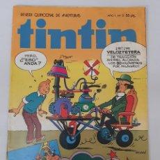 Tebeos: COMIC TINTIN REVISTA QUINCENAL DE AVENTURAS N°13 EDITORIAL BRUGUERA. Lote 243578740