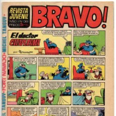 Tebeos: BRAVO Nº 38 (BRUGUERA 1968). Lote 243585655