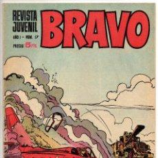 Tebeos: BRAVO Nº 17 (BRUGUERA 1968). Lote 243586200