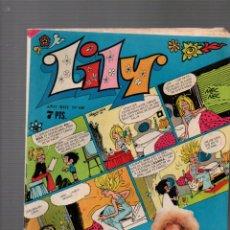 Tebeos: LILY Nº 581. REVISTA JUVENIL FEMENINA. BRUGUERA, 22 ENERO 1973. Lote 243605245