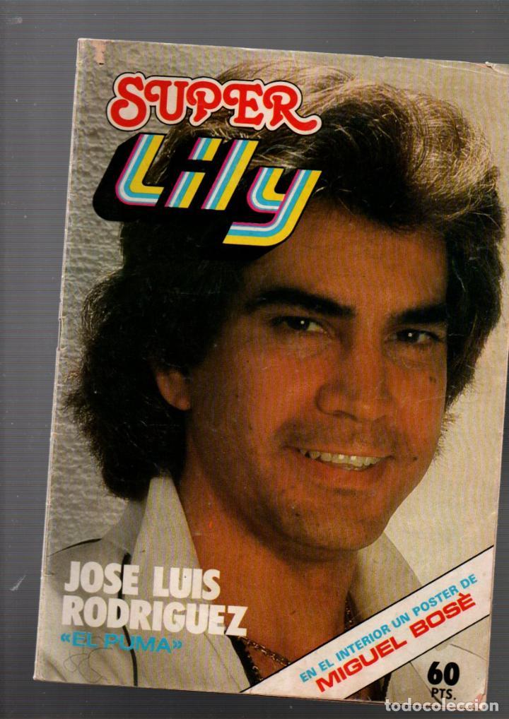 SUPER LILY, Nº 71. POSTER DE MIGUEL BOSE. BRUGUERA, 2 NOVIEMBRE 1981. SUPERLILY (Tebeos y Comics - Bruguera - Lily)