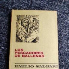 Tebeos: LOS PESCADORES DE BALLENAS -COLECCION HISTORIAS -EMILIO SALGARI Nº 15 EDITA : BRUGUERA. Lote 243629530