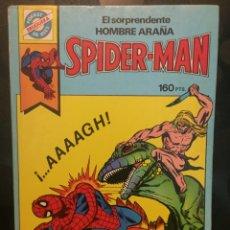 Tebeos: POCKET DE ASES N.3 EL SORPRENDENTE HOMBRE ARAÑA SPIDERMAN ( 1981/1985 ). Lote 243636320