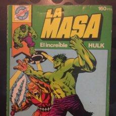 Tebeos: POCKET DE ASES N.4 LA MASA EL INCREÍBLE HULK ( 1981/1985 ). Lote 243637410