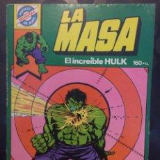 Tebeos: POCKET DE ASES N.7 LA MASA EL INCREÍBLE HULK ( 1981/1985 ). Lote 243639140