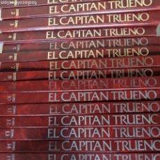 Giornalini: COLECCIÓN COMPLETA EL CAPITÁN TRUENO EDICIÓN HISTÓRICA 18 TOMOS. Lote 243639585