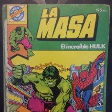Tebeos: POCKET DE ASES N.13 LA MASA EL INCREÍBLE HULK ( 1981/1985 ). Lote 243645715
